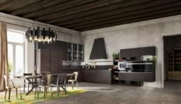 Cuisine ouverte moderne et design par Zanutta