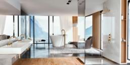 robinetterie salle de bain moderne